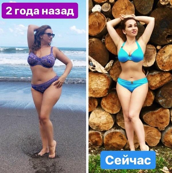 Анфиса Чехова до и после похудения фото