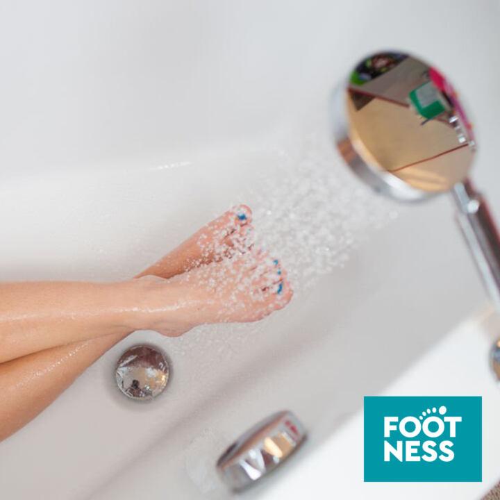 Контрастный душ для ног